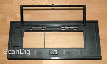 The film holder with glass and inserted 6x7 masker